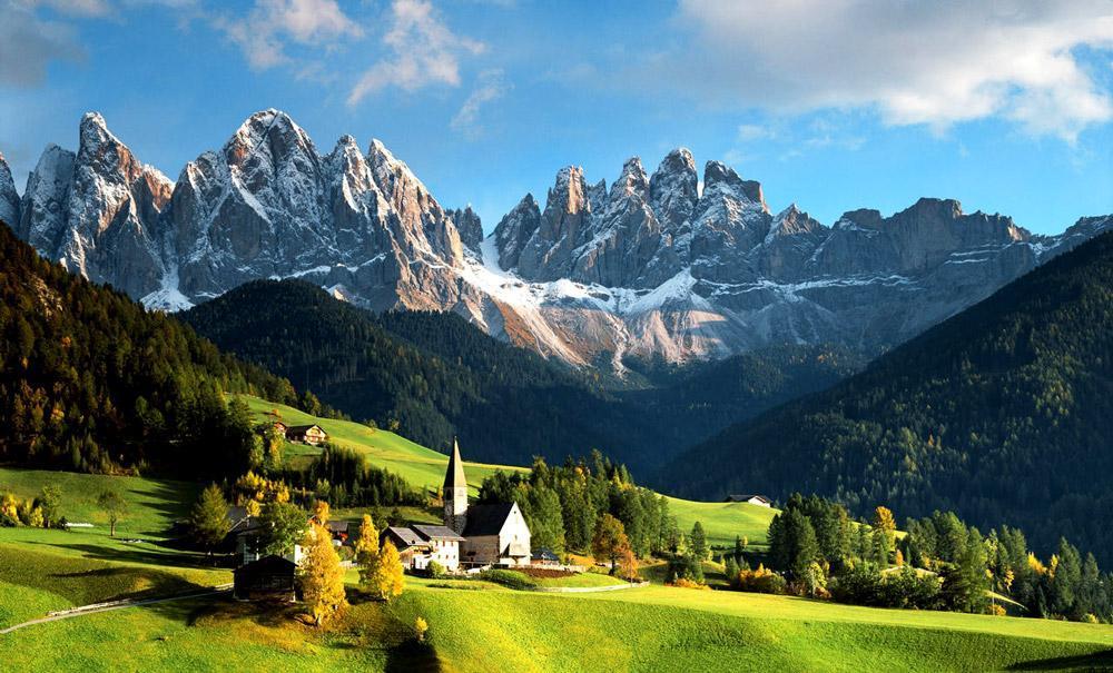 بازدید از ده جاذبه طبیعی برتر ایتالیا