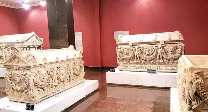 چندین آثار باستانی در موزه هراکلس آنتالیا مفقود شد