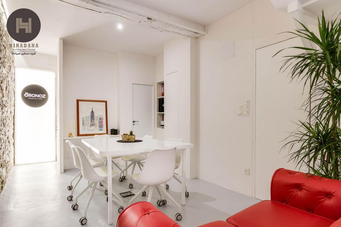 طراحی دکوراسیون اداری در محیط های کوچک