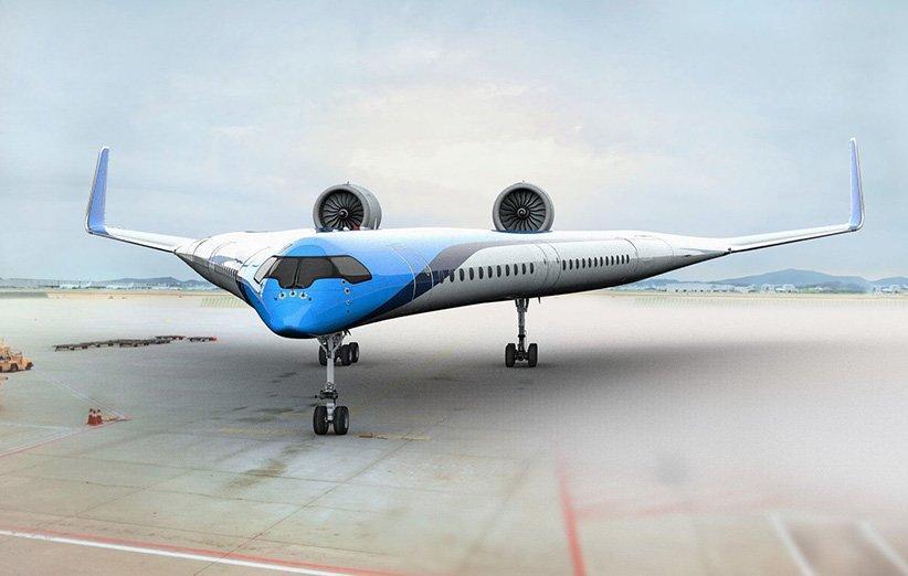 نخستین مدل هواپیمای V شکل دانشگاه هلند آزمایش شد