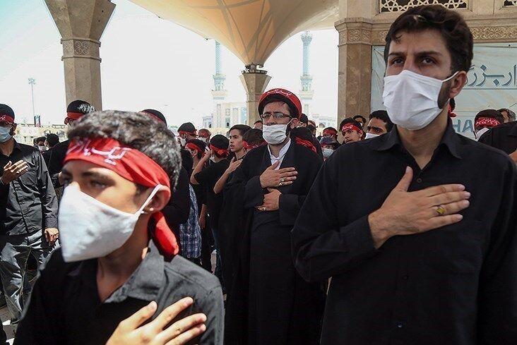خبرنگاران دسته های عزاداری در مشهد اجازه حرکت ندارند
