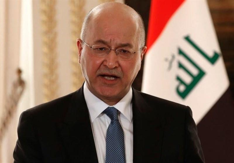 عراق، دعوت رسمی شیخ نواف الصباح از برهم صالح برای سفر به کویت