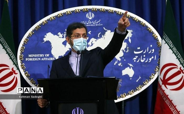 پاسخ توییتری سخنگوی وزارت امور خارجه به توییت اخیر پامپئو علیه ایران