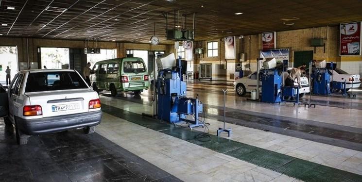 شروع آزمون سنجش صدای وسایل نقلیه در مراکز معاینه فنی تهران