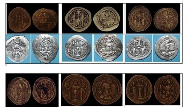 بازسازی 45 سکه نقره ساسانی در آزمایشگاه بازسازی قلعه فلک الافلاک