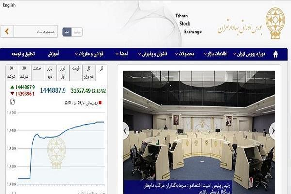 رشد 31 هزار واحدی شاخص بورس تهران، ارزش معاملات بورس و فرابورس به 17.3 هزار میلیارد تومان رسید