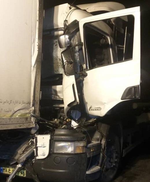 حادثه مرگبار در گردنه کرمانشاهان مهریز