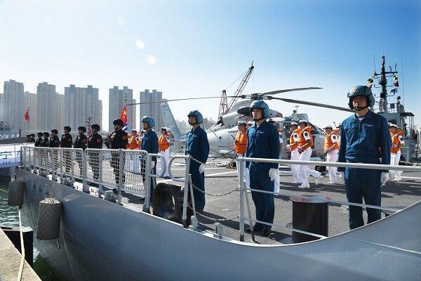 ناوگان 37ام نیروی دریایی چین به سمت خلیج عدن حرکت کرد