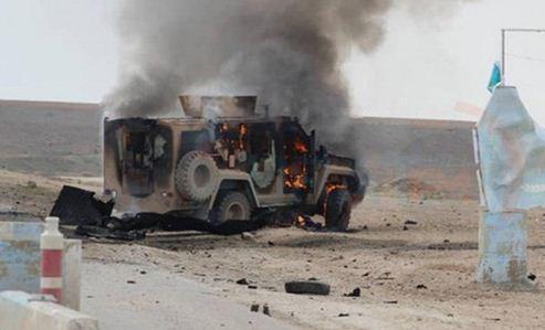 دومین کاروان نظامی آمریکا در عراق هدف نهاده شد