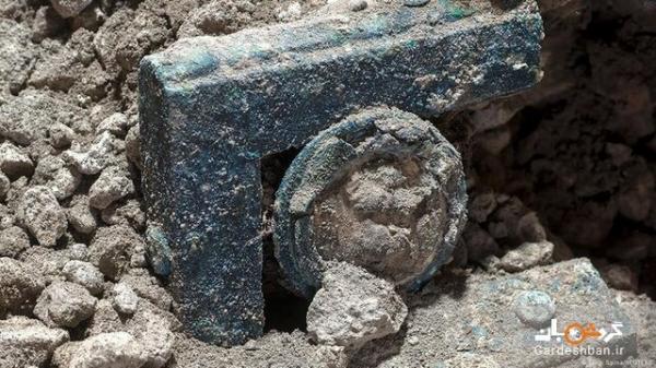 کشف ارابه باستانی در شهر تاریخی پمپئی