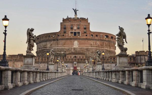 قلعه سنت آنجلو رم (ایتالیا)
