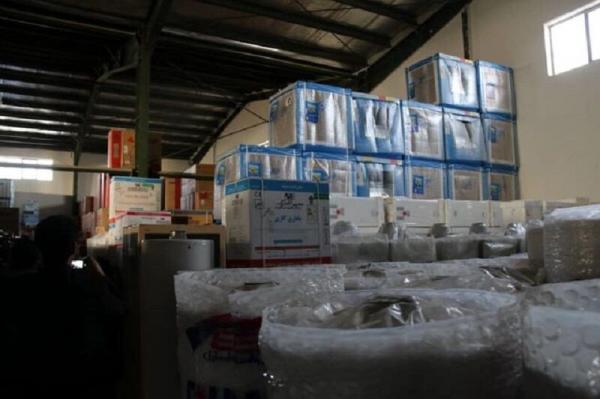 خبرنگاران کشف انبار کالای قاچاق در کرج