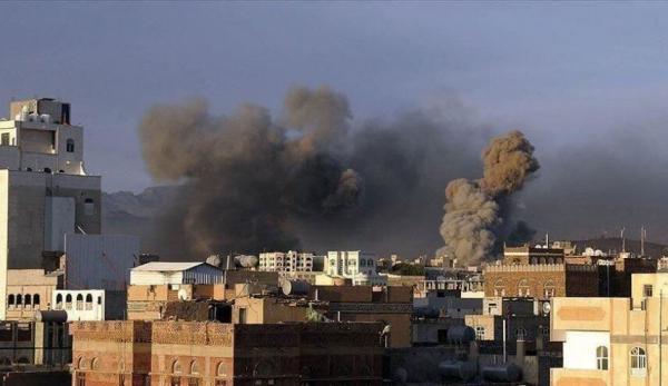 خبرنگاران جنگنده های ائتلاف سعودی یمن را بمباران کردند