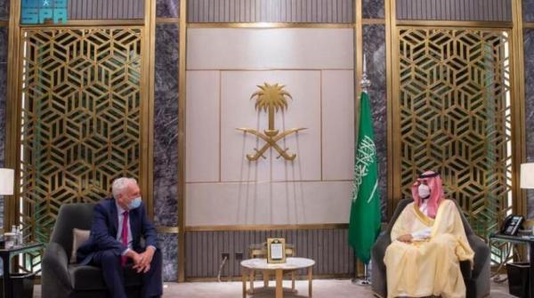 رایزنی ولیعهد سعودی با نماینده وِیژه نخست وزیر انگلیس