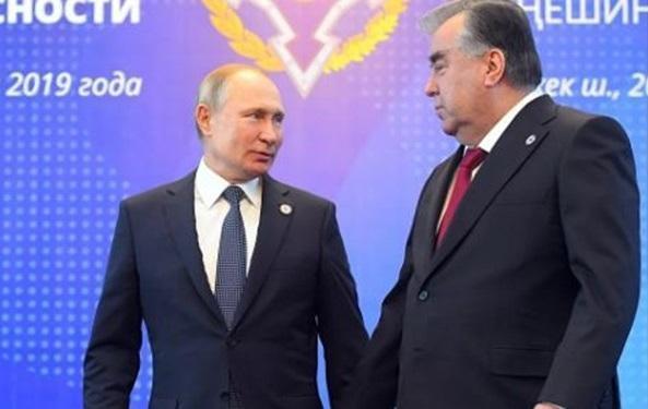 سفر رئیس جمهور تاجیکستان به مسکو