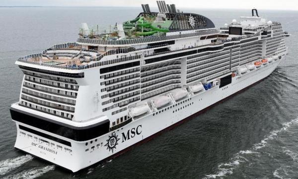 تور 8روزه کشتی کروز MSC Grandiosa پاییز 1400
