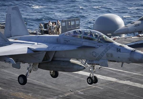 آمریکا برای خروج از افغانستان 12 فروند F-18 را به منطقه اعزام کرد