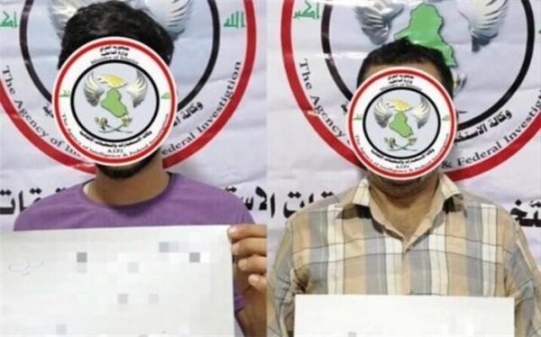دو داعشی مسئول بمب گذاری در جهت زائران کربلا دستگیر شدند