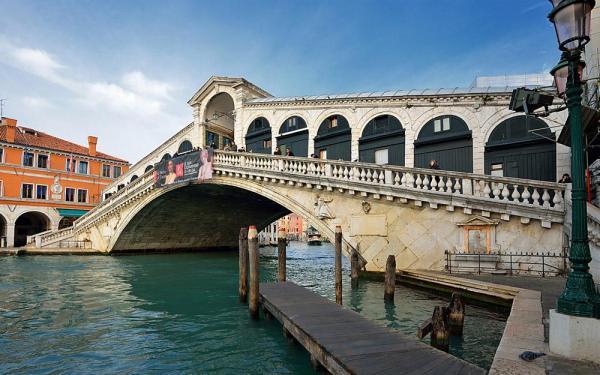 پل ریالتو ونیز (ایتالیا)