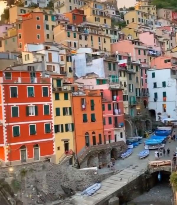 روستای سینکو تره در ایتالیا