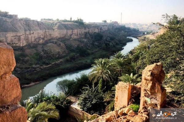 آتش سوزی در باغ خان ؛ یادگار زیبای قاجار در شوشتر