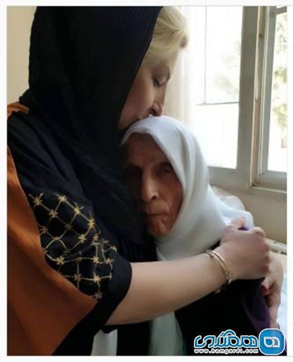 دلتنگی مرجانه گلچین برای مادرش