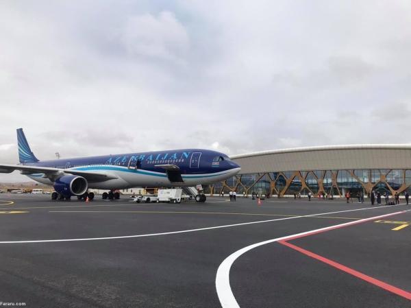 طراحی داخل ویلا: فرود نخستین هواپیما در منطقه ها آزاد شده قره باغ