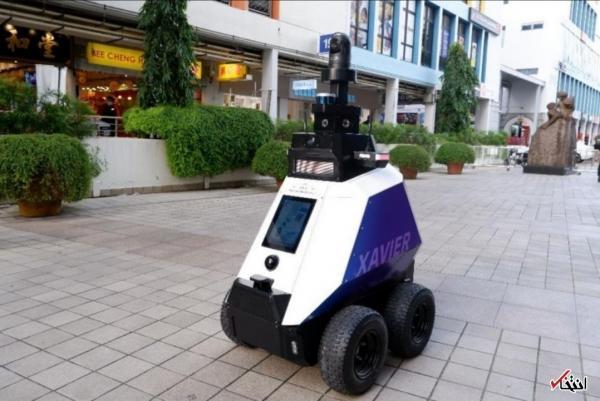 تور سنگاپور ارزان: جریمه بدرفتاری در سنگاپور رباتیک شد