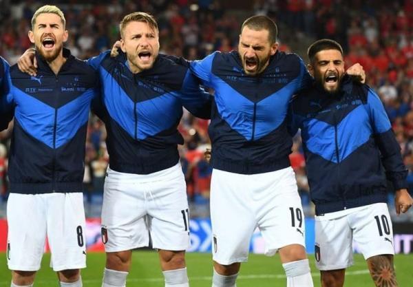 ایتالیا رکوردشکست ناپذیری در فوتبال ملی را شکست