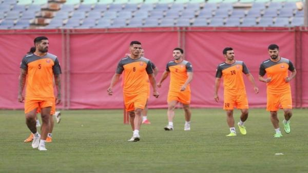 رونمایی از بازیکنان تازه تیم فوتبال پرسپولیس در بازی با الهلال