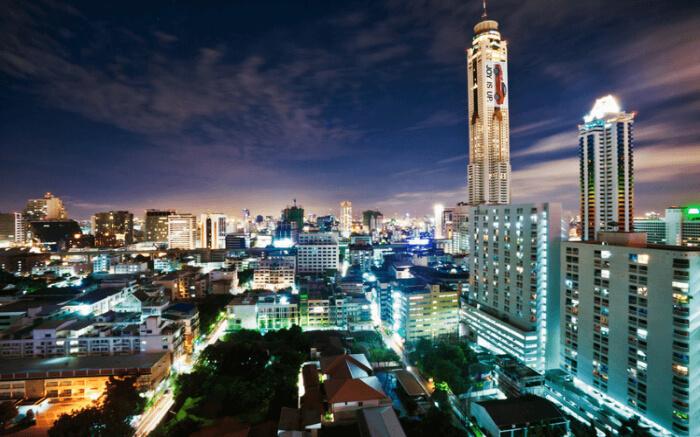 هتل 4 ستاره بایوک اسکای بانکوک