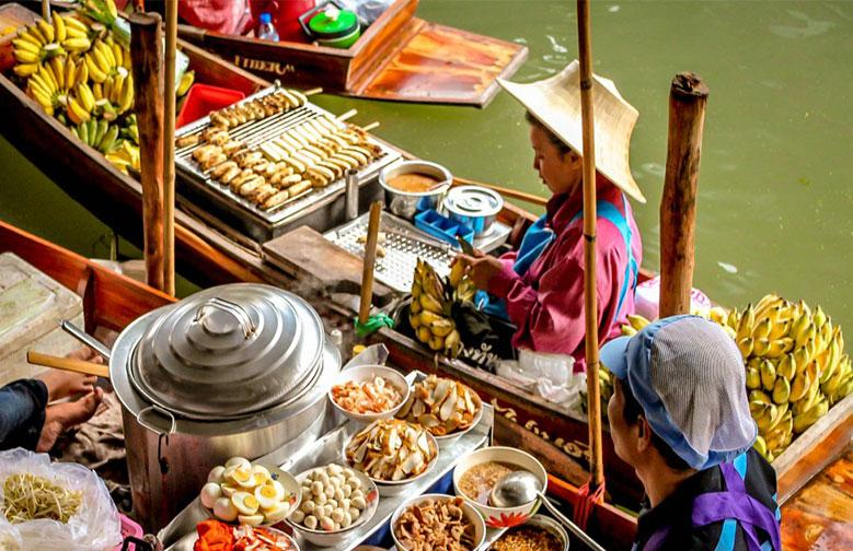 بازارهای شناور بانکوک