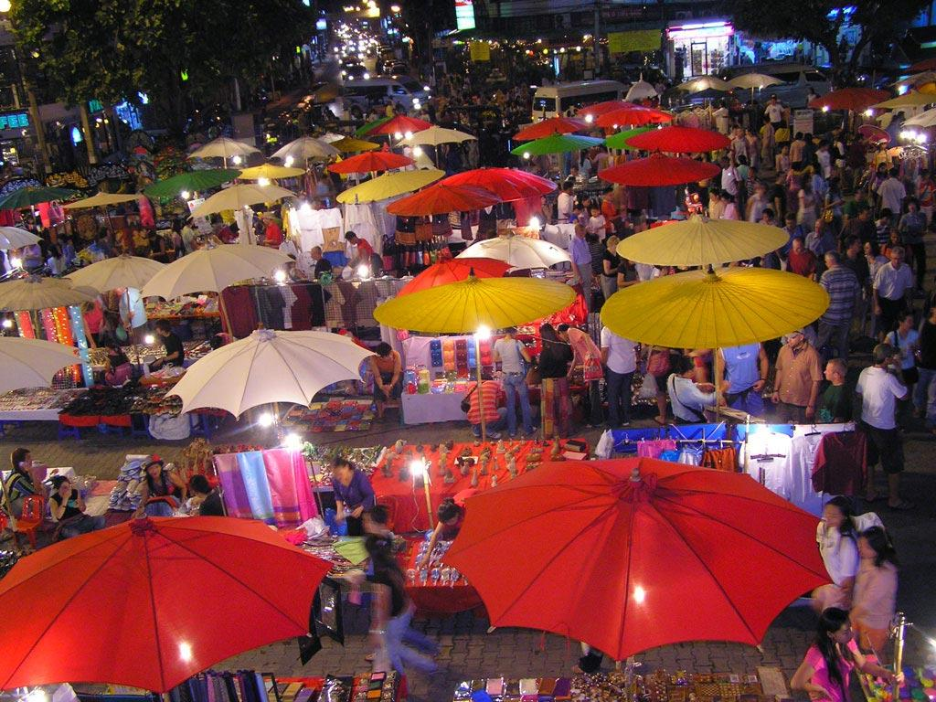 بازار شبانه چیانگ مای