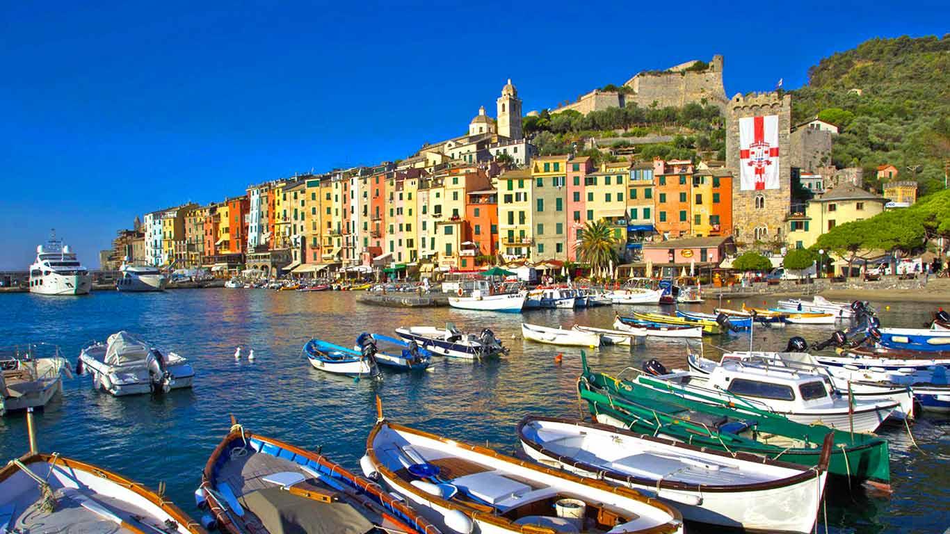 بندر پورتو ونه ره ایتالیا